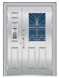 Stainless Steel Designer Door
