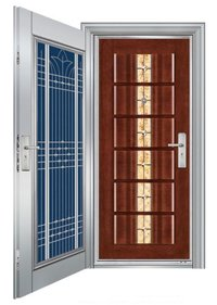 Stainless Steel Decorative Front Doors