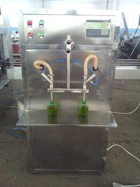 Zxg-2 Semi-Automatic Two Head Flowmeter Type Filling Machine