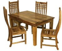 Decorative Wooden Square Dining Table
