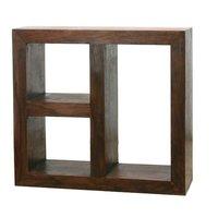Sheesham Wood Cube Range Bookshelf