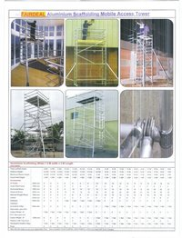 Mobile and Stationary Scaffolding Towers
