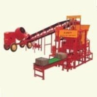Semi Automatic Conveyorised Block Making Machine