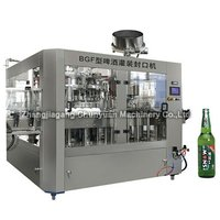 Bgz Series Beer Filling, Capping 2-In-1 Unit Machine