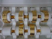Gold Plated Designer Bangles