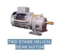 Two Stage Helical Gear Motor
