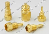 Brass Temperature Sensor Housing