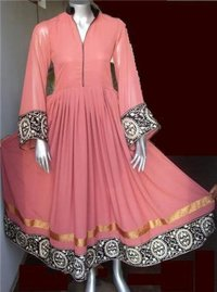 Elegnt Long Anarkali Suit