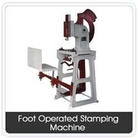 Foot Operated Stamping Machine