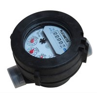 Single Jet Liquid Sealed Vane Wheel Water Meter