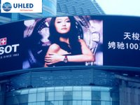 High Brightness Outdoor PH10mm Curved Advertising LED Display