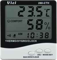 288-Cth Indoor Digital Thermo-Hygrometer