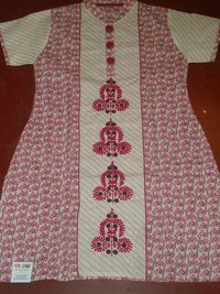 Cotton Embrodiery Kurti