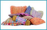 Raw Silk Cushions