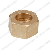 Premium Brass Hex Nut