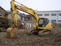 Used Komastu Crawler Excavator PC200-7