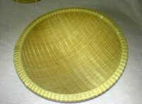 Bamboo Woven Hand Basket