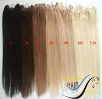Micro Loop Ring Hair Extensions 2 Rings Per Strand