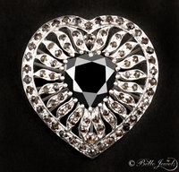 Diamond Heart Cocktail Ring