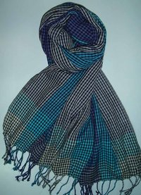 Viscose Checks Designed Stole