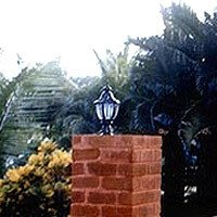 Solar Compound Wall Light