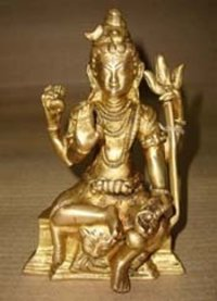 Brass And Bronze Lord Shiva Statue (Himalayayogi)