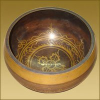 Tibetan Singing Bowl (Dorjee Design)