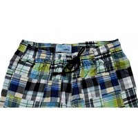 Mens Bermuda Patchwork Shorts