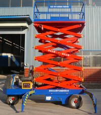 Self-Propelled Hydraulic Elevating Platform