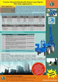 Tractor Mounted Borewell