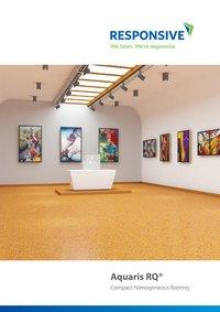 Compact Homogenous Flooring - Aquaris RQ