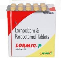 Lornoxicam+ Paracetamol Tablet