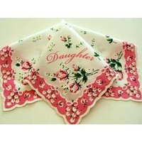 Personalized Handkerchief For Daughter