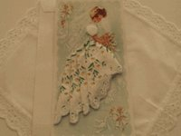 Printed Handkerchief Dolls