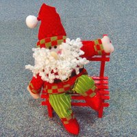 Santa Claus On The Chair