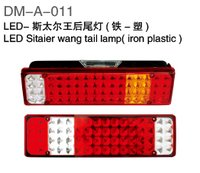 LED Tail Lamp With Iron/Plastic For Sitaier