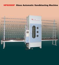 HPS2000 Automatic Glass Sandblasting Machine