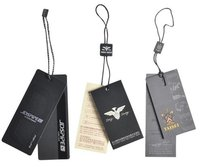 Custom Printed Garment Hang Tag