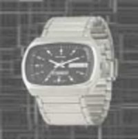 Rectangular Wrist Watch