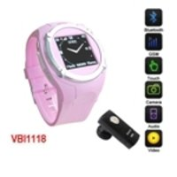 Watch Mobile Phone- Pink