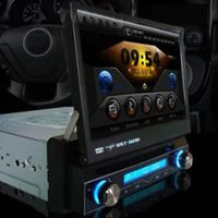 7 Inch In-dash Single Din Car DVD Player