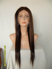 Long Straight Human Hair Lace Wigs