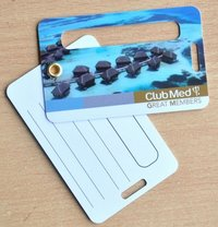 PVC Luggage Card