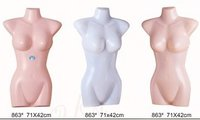 Latest Style Half Body Display Mannequins (Plastic Torso)
