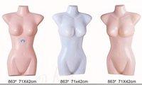 Latest Style Half Body Display Mannequins (Plastic Torso)