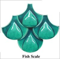 Fish Scale Glass Product