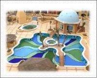 Designer Swimming Pool Glass Tiles