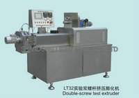 Double Screw Test Extruder
