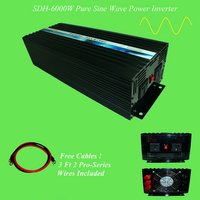 6KW High Frequency Off Grid Pure Sine Wave Inverter