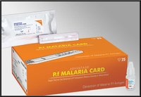 Advantage P.F Malaria Card